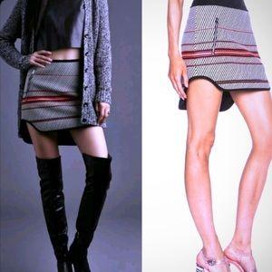 Rag & Bone New York Bess stripe mini skirt